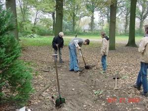 27-10-2007 start uitbreiding Blokhut